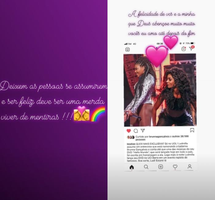 Mãe de Ludmilla fala sobre namoro da filha com bailarina - 1