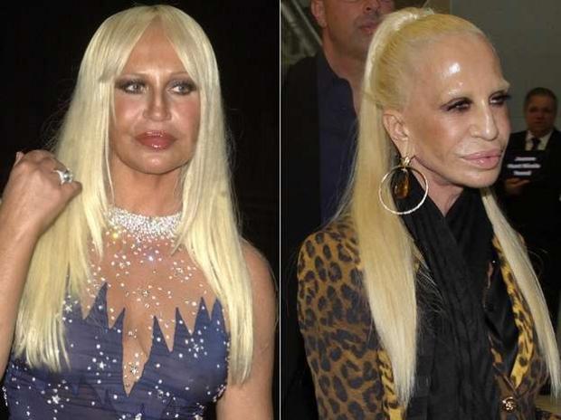 2c7136012 A estilista italiana Donatella Versace, de 59 anos, veio ao Brasil para o  lançamento da coleção da Versace em parceria com a Riachuelo, que ocorreu  nessa ...