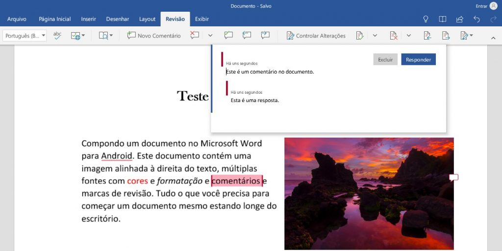office para android word