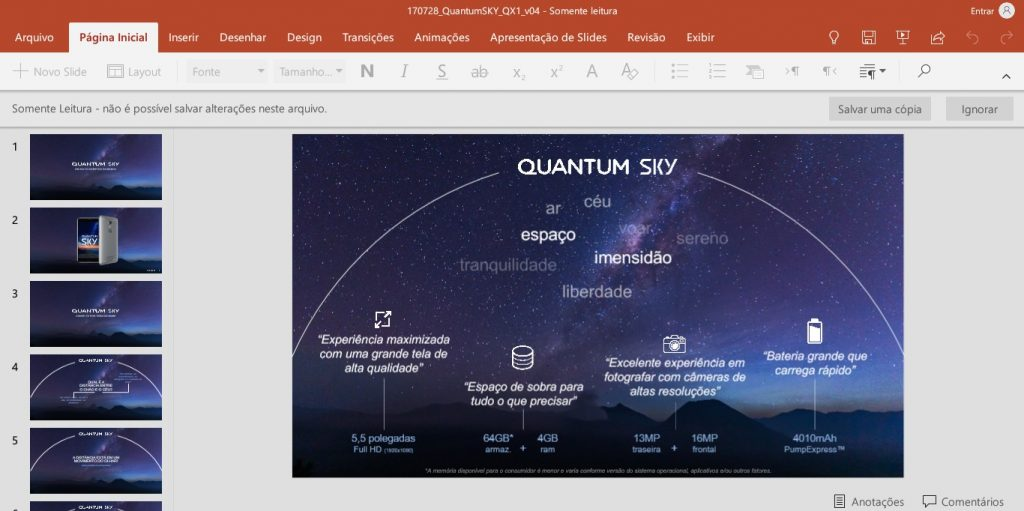 office para android powerpoint