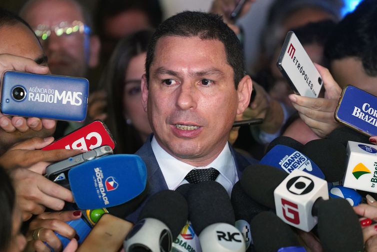 Deputado Marcelo Ramos,presidente da Comissão da Reforma da Previdência