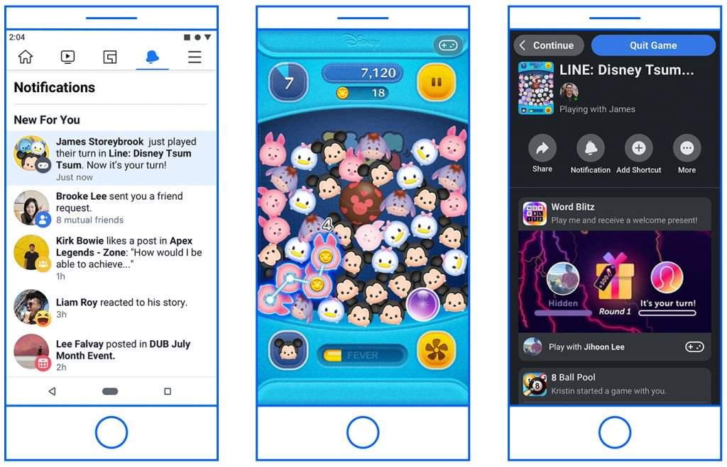 Facebook vai liberar novos recursos no Instant Games - 2