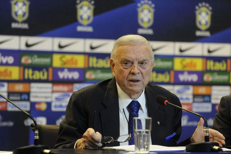 Ex-presidente da CBF José Maria Marin