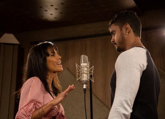 Lincoln e Ju Moraes gravam música