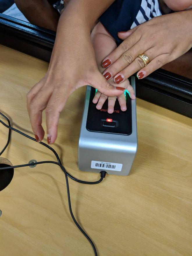 Bebês começam a ser registrados por biometria em hospital de Minas Gerais - 2