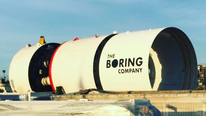 Boring Company fecha primeiro contrato para trânsito subterrâneo de pessoas - 1