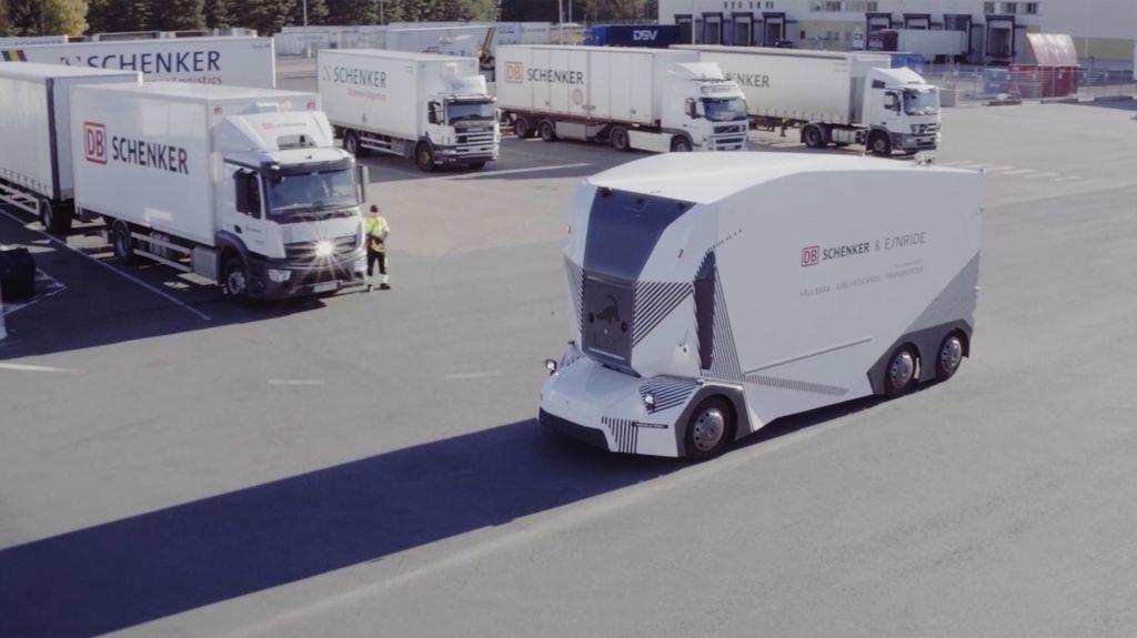 Caminhão autônomo consegue autorização para fazer entregas na Suécia - 2