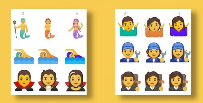 Google vai liberar coleção com 53 emojis de gênero neutro - 3