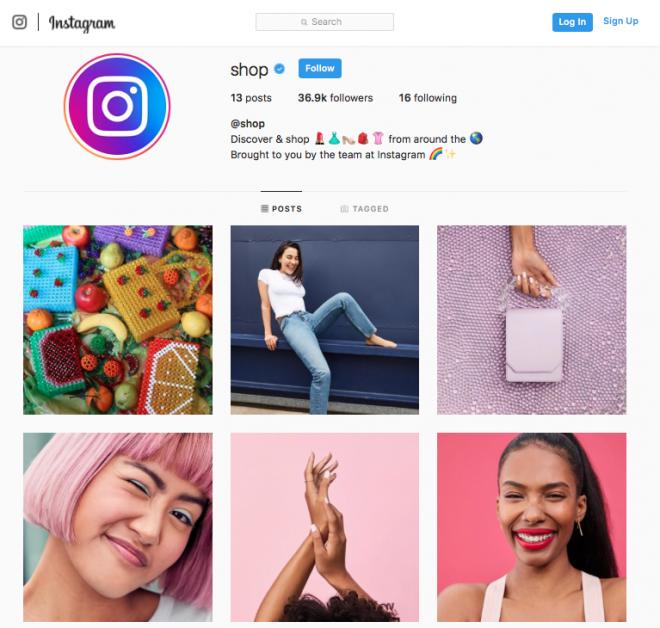 Instagram lança canal @shop para promover produtos à venda na plataforma - 2