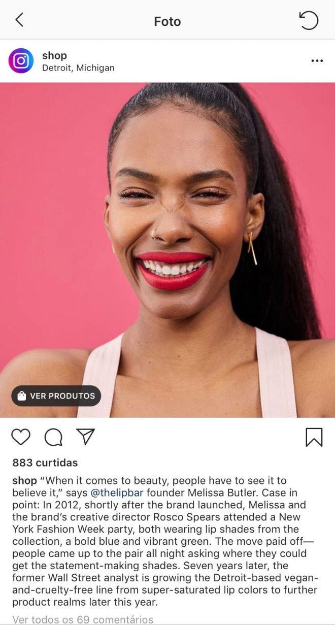 Instagram lança canal @shop para promover produtos à venda na plataforma - 3