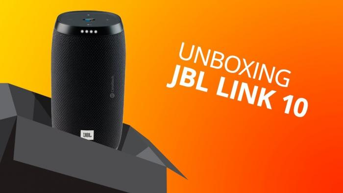 Primeira caixa da JBL com Google Assistente [JBL LINK 10] - 1