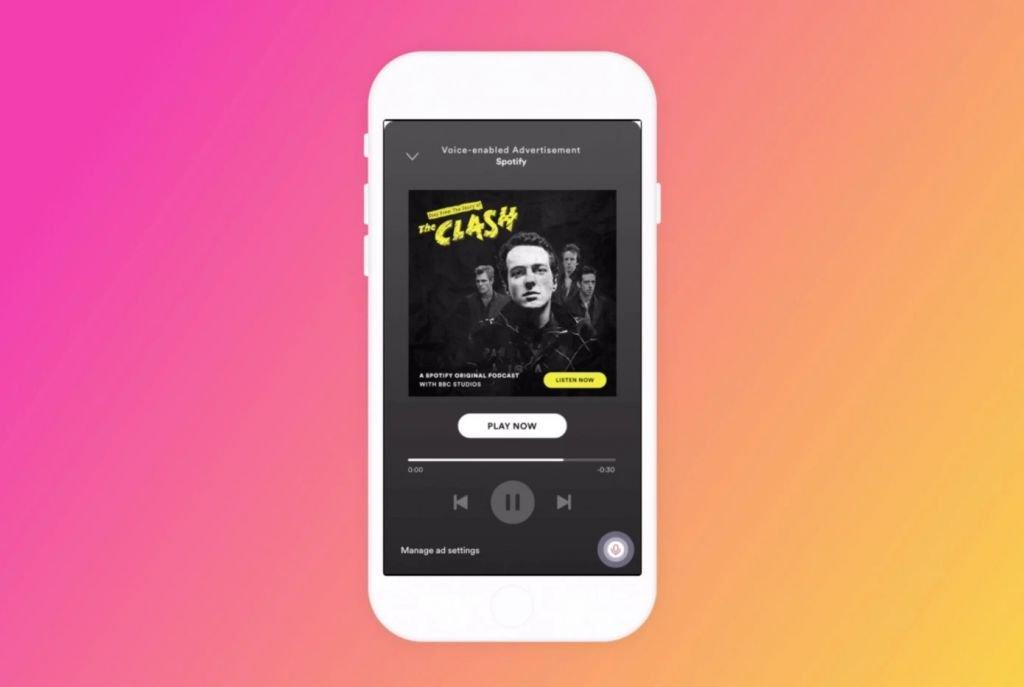 Spotify está testando interação por voz com anúncios - 2