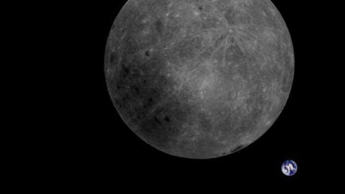Descoberta grande massa de material misterioso no lado afastado da Lua - 1