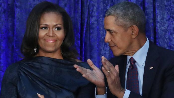 Michelle e Barack Obama vão produzir podcasts exclusivos para o Spotify - 1