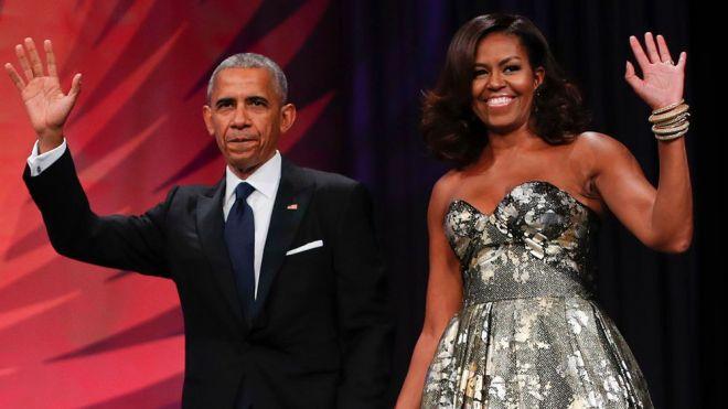Michelle e Barack Obama vão produzir podcasts exclusivos para o Spotify - 2