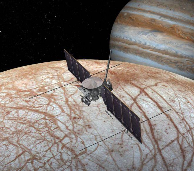Oceano da lua Europa é salgado assim como os oceanos da Terra, diz estudo - 3