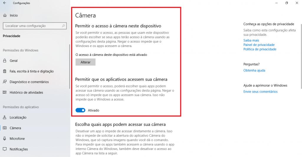Por que minha webcam não quer funcionar no Windows 10? - 5
