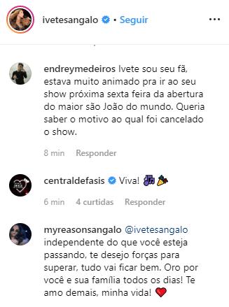 Show de Ivete Sangalo no São João de Campina Grande é cancelado na véspera do evento - 2