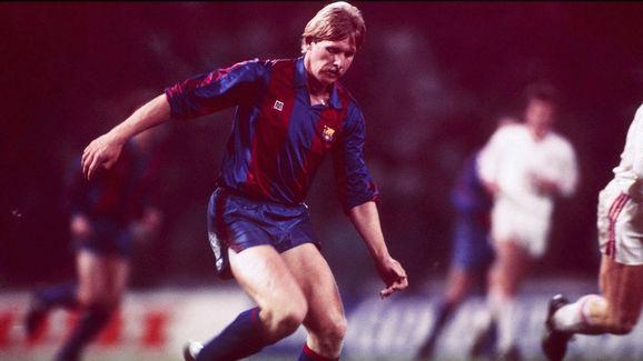 Bernd SCHUSTER /FC BARCELONA - EINZELAKTION -;