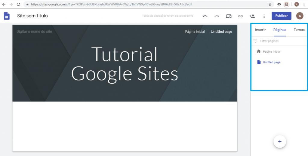 Aprenda como criar um site gratuitamente com o Google Sites - 5