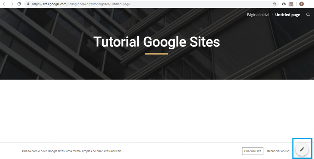 Aprenda como criar um site gratuitamente com o Google Sites - 9