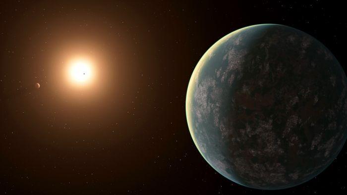 Astrônomos descobrem novo sistema estelar e um planeta que pode abrigar vida - 1