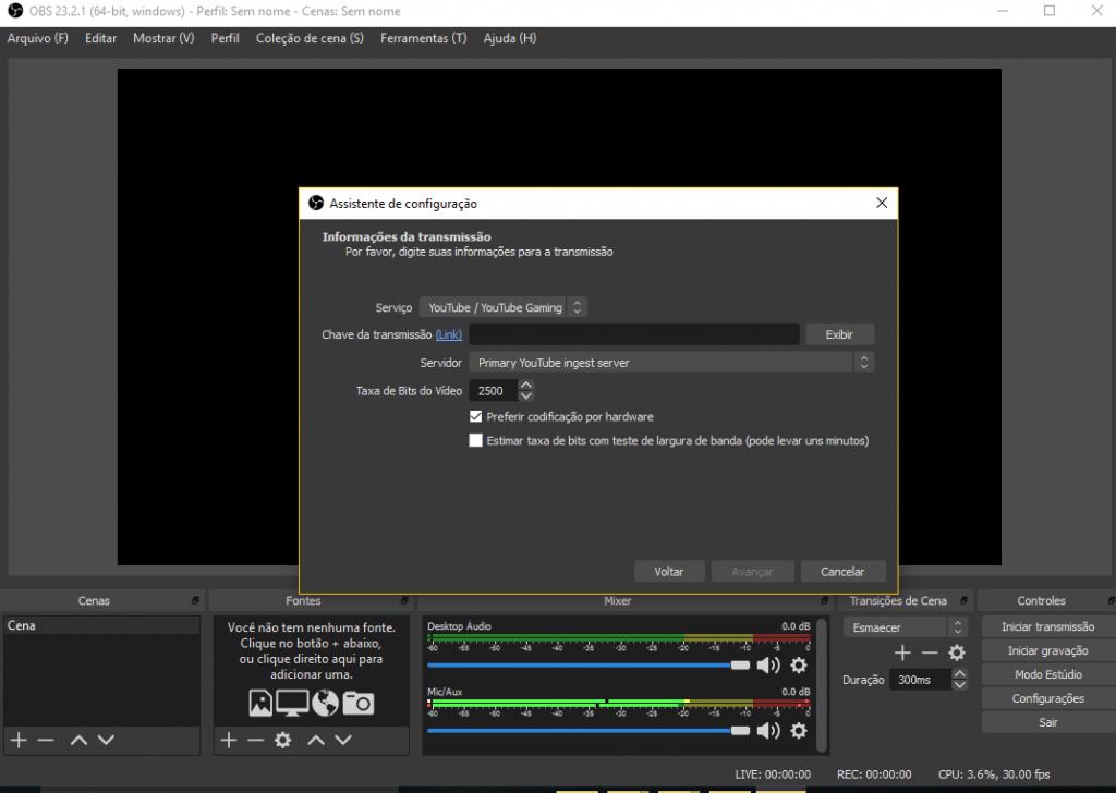 Como fazer streaming de games no YouTube - 4