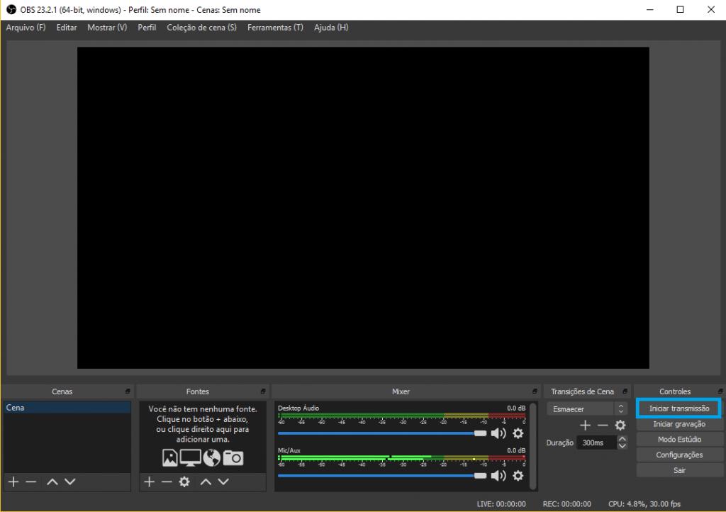 Como fazer streaming de games no YouTube - 6