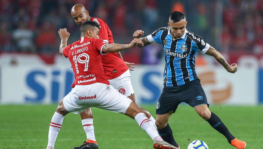 Everton é liberado de treino do Grêmio e aumenta rumores de saída para o exterior - 1
