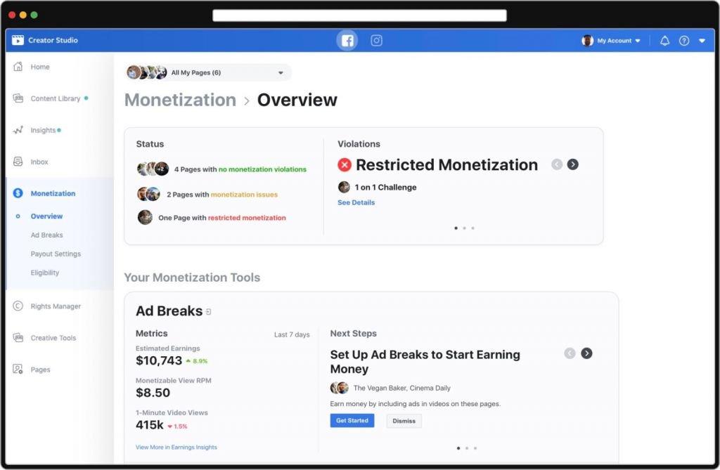 Facebook anuncia melhorias para monetização em sua plataforma de vídeos - 3