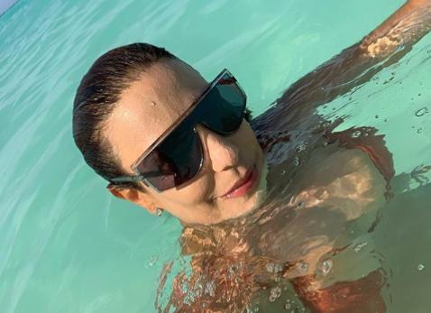 Ivete Sangalo compartilha momentos das férias com o marido nas Ilhas Maldivas - 1