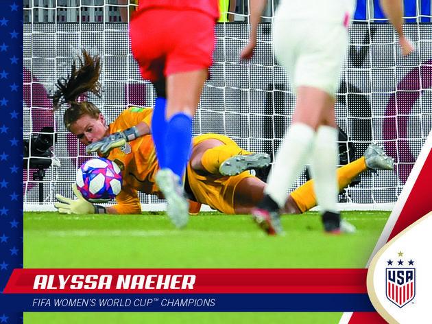 Panini lança de forma limitada cards comemorativos do título dos EUA na Copa Feminina - 3