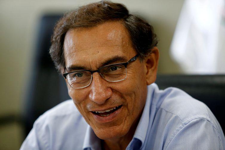 Primeiro vice-presidente do Peru, Martín Vizcarra