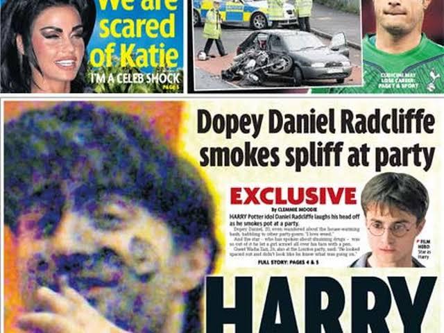 Coisas estranhas que aconteceram com Daniel Radcliffe após Harry Potter - 4