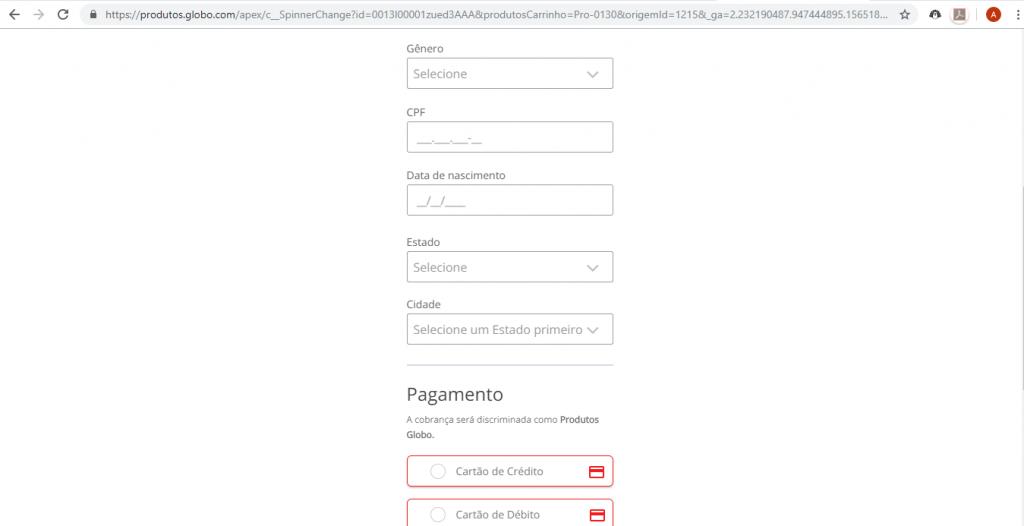 Como assistir a TV Globo online através do Globoplay - 3