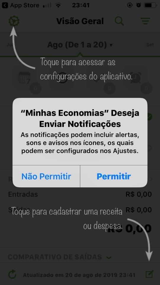 Como controlar melhor seus gastos com o app Minhas Economias - 5