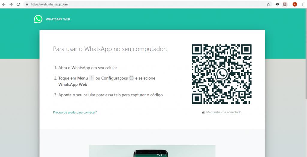 Como escanear o código do WhatsApp Web e usar o app no computador - 4
