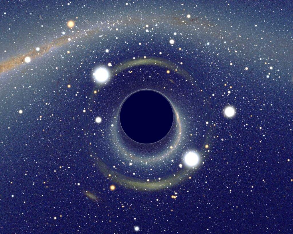 Dá pra imaginar? Há um buraco negro com 40 bilhões de vezes a massa do Sol - 2
