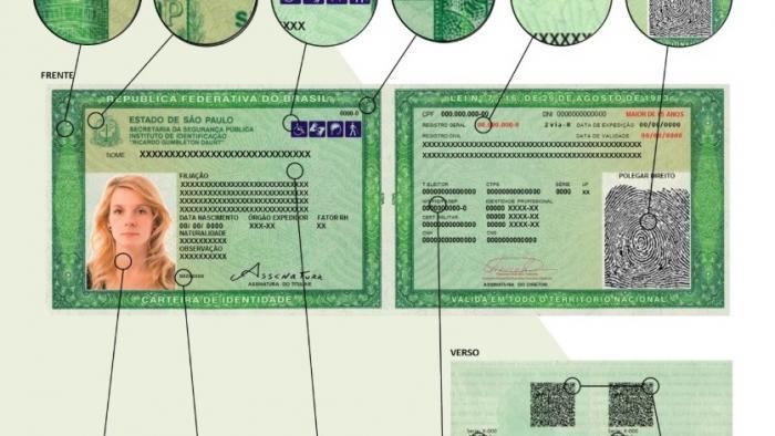 Estado de São Paulo terá nova carteira de identidade; veja o que mudou - 1