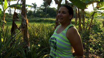 Luzia Soares, moradora de assentamento rural em Porto Acre