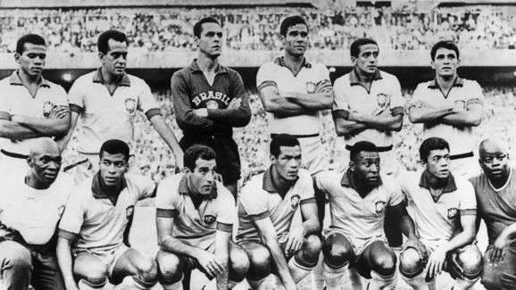 Fidelis,Jairzinho,ZITO,Gilmar,Altair,Amarildo,Brito,Pele,Paulo Henrique,Gerson,Servilio II