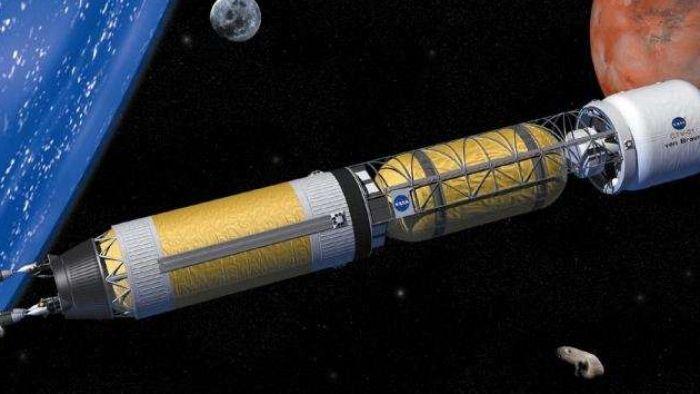 NASA planeja usar energia térmica nuclear em foguetes para chegar a Marte - 1