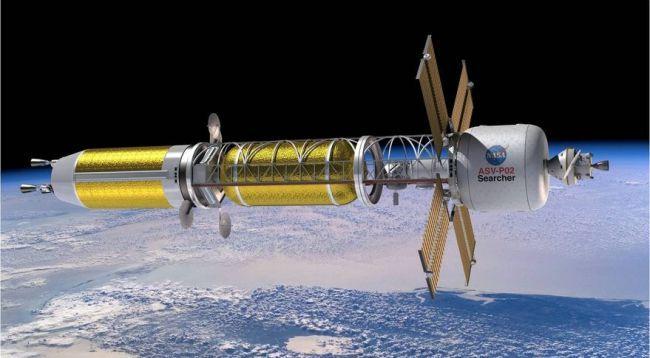 NASA planeja usar energia térmica nuclear em foguetes para chegar a Marte - 2