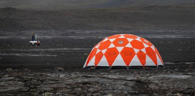 NASA se prepara para próxima missão em Marte em campos de lava na Islândia - 2