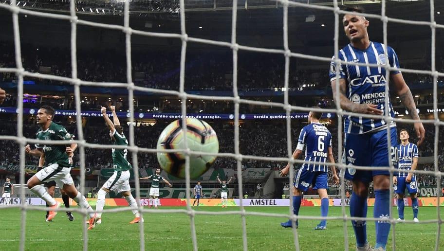 Os 10 times com mais gols na história da Copa Libertadores - 1