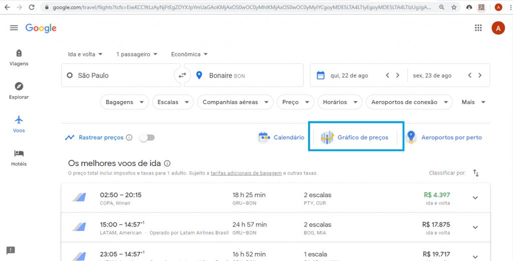 Saiba como achar passagens aéreas baratas no Google Flights - 2