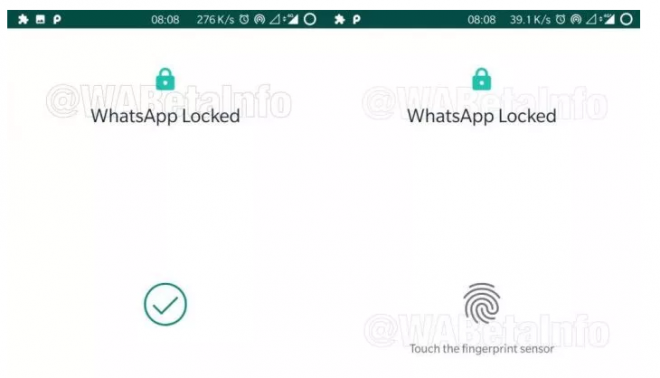 WhatsApp ganha bloqueio por digital no Android - 3
