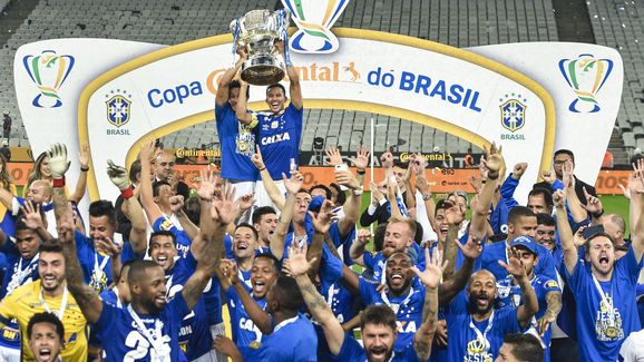 Corinthians v Cruzeiro - Copa do Brasil 2018 Finals