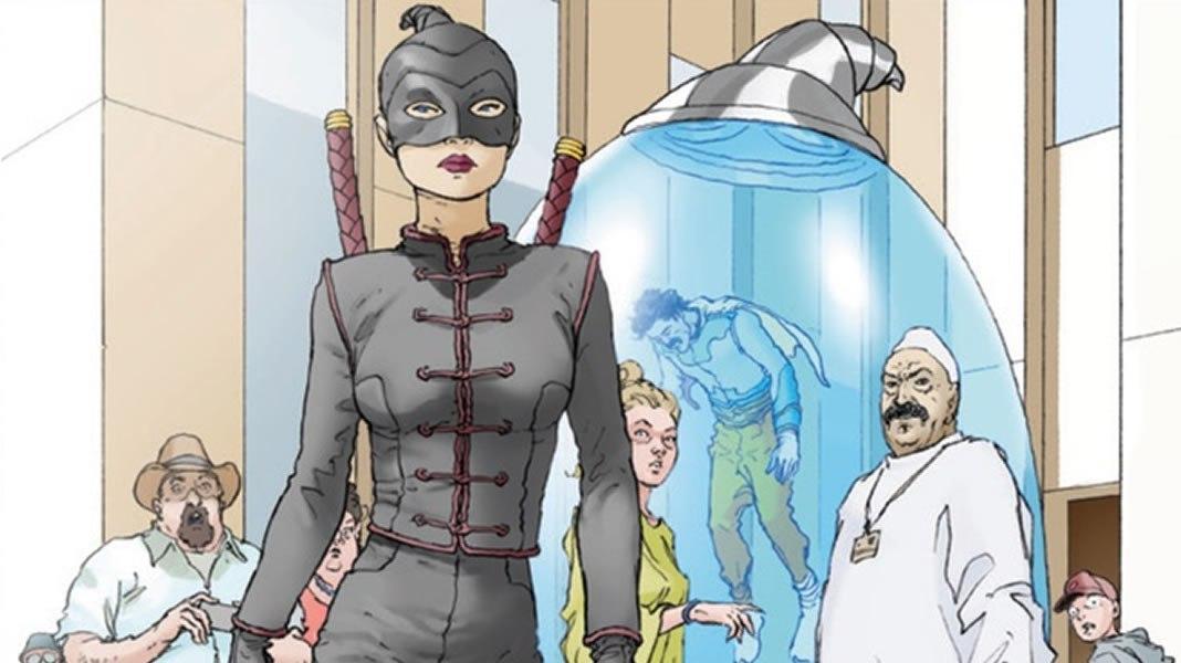 A nova série de super-heróis da Netflix é bem parecida com Liga da Justiça - 1