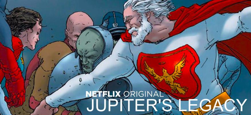 A nova série de super-heróis da Netflix é bem parecida com Liga da Justiça - 2